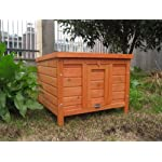 BUNNY BUSINESS Rabbit/ Guinea Pig Giant Hide House/ Run Hutch, Extra Large, 60 × 47 × 50 cm 14