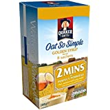 Quaker Oat So Simple Golden Syrup 8 Sachets - 288 gr - [Pack de 6]