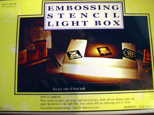 light-box-for-embossing-and-stenciling-with-uk-plug