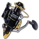WANG Bobina Di Pesca 10 + 1 Rapporto Di Massa Mole A Tazza Asse Filatura Filo Metallico Velocità Aspo: 4 8:   1