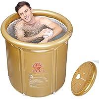 Sunjun& Bañera plegable, bañera inflable familiar para adultos ( Tamaño : Gran )