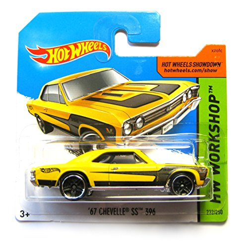 Hotwheels HW Workshop BFF09 ´67 Chevelle SS 396 232/250