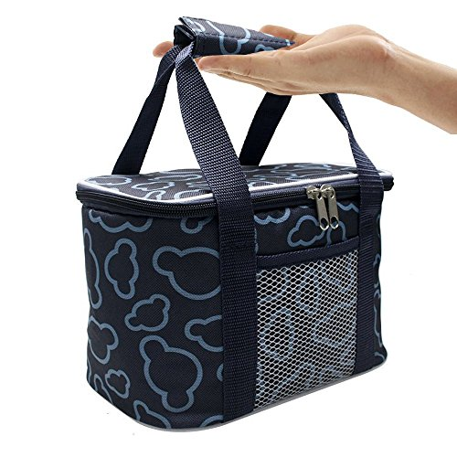 Sac Repas Lunch Bag Isotherme Sac à Camping/Repas/Déjeuner/Picnic Sac Sport (Bleu)