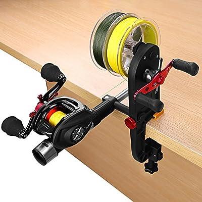 TEPSMIGO Fishing Line Spooler Fishing Gear Multifunction Baitcasting Reel Spooler Fishing Line Winder from TEPSMIGO