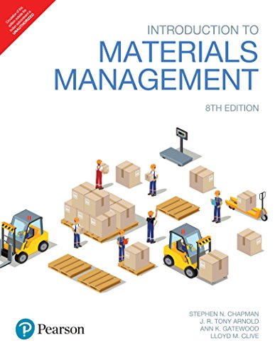 Introduction to Materials Management by Pearson