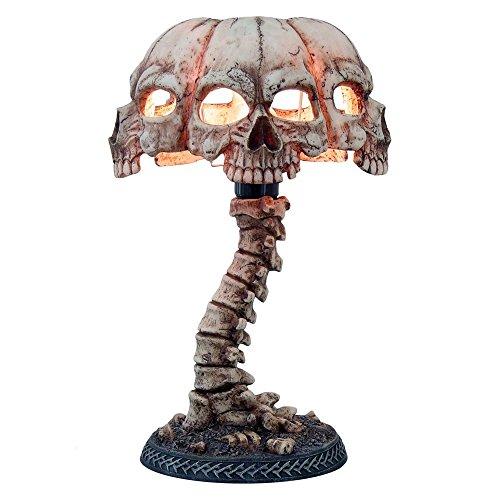 Skull lamp amazon atrocity skull desk light 375cm aloadofball Image collections