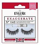 Eylure Exaggerate Lash No. 143, 1er Pack (1 x 2 Stück)