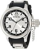 Invicta 1435 - Reloj de Pulsera Hombre, Caucho, Color Negro