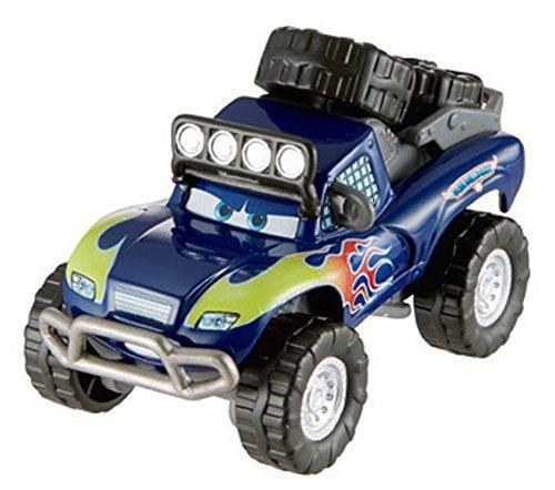 Cars 2 Geländewagen blau (Blue Grit) (1 Licht 8 Cast)