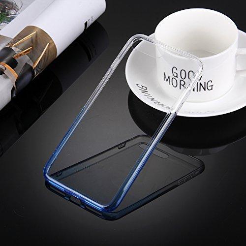 Hülle für iPhone 7 plus , Schutzhülle Für iPhone 7 Plus stilvolle klare Kristall Steigung Farbe Acryl + TPU Schutzhülle Rückseite ,hülle für iPhone 7 plus , case for iphone 7 plus ( SKU : IP7P0120YL ) IP7P0120L