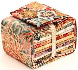 Tissus patchwork-Fat Quarters à fleurs Dawn, Robert Kaufman