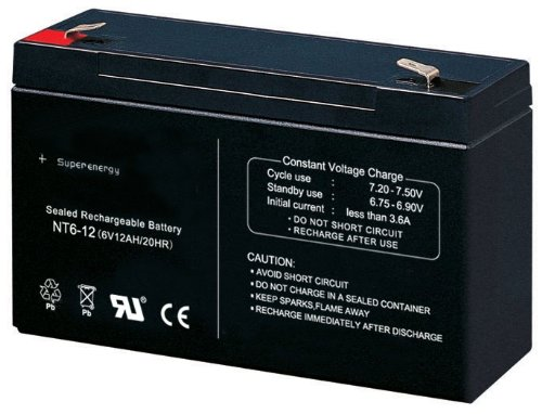 Universal Blei Akku Ersatzakku 6V12Ah 6V 12Ah Batterie für Kinderfahrzeug