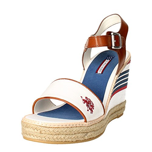 Assn Donna U Sandalo YC1 Bianco Polo s DORAS4061S6 qzEzUv6