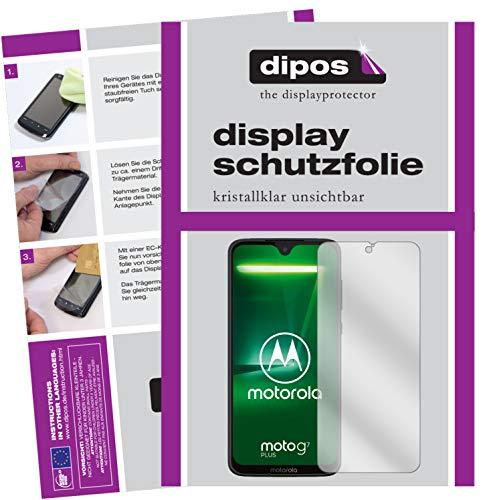 dipos I 6X Schutzfolie klar passend für Motorola Moto G7 Plus Folie Displayschutzfolie