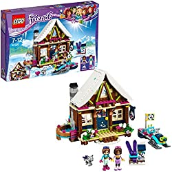 LEGO Friends - Le chalet de la station de ski - 41323 - Jeu de Construction