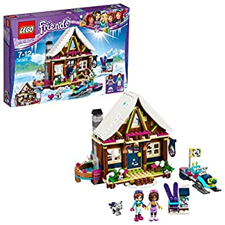 Lego Friends-41323 Friends: estación de esquí: Cabaña, Multicolor, Miscelanea (41323)
