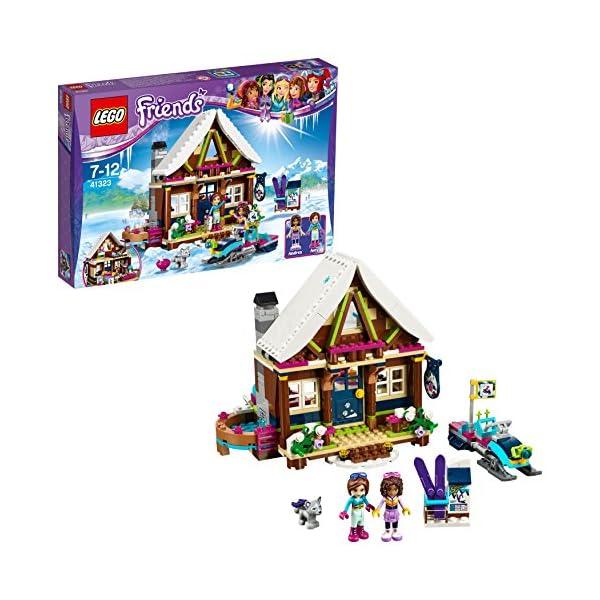 LEGO- Friends Lo Chalet del Villaggio Invernale, Multicolore, 41323 1 spesavip