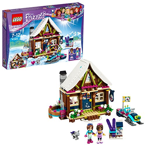 LEGO Friends 41323 - Chalet im Wintersportort -