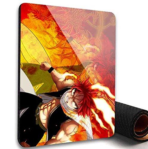 Fairy Tail manga sottile antiscivolo mouse pad tappetino mouse pad per Optical laser mouse #8