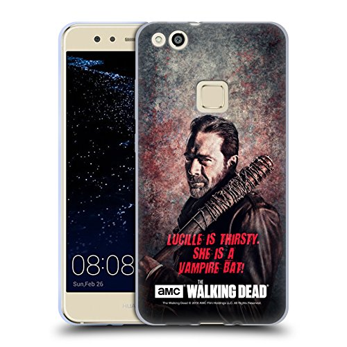 alking Dead Lucille Vampir Fledermaus Negan Soft Gel Hülle für Huawei P10 Lite (Negan-fledermaus)