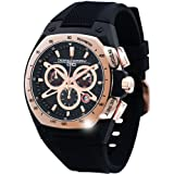 Jorg Gray Herren-Armbanduhr XL Chronograph Silikon JG8300-21