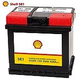 Shell Autobatterie 12V 53Ah SR1 ersetzt 44Ah 45AH 47AH 50AH 52AH 54AH