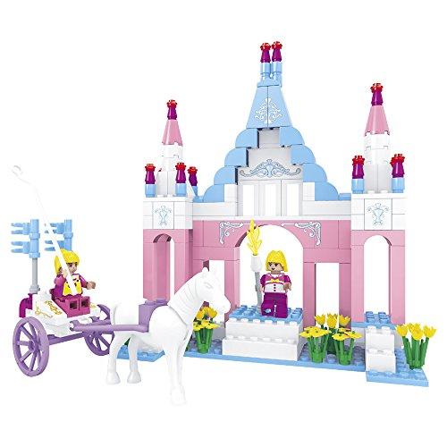 Ausini - Juego de construcción Castillo & calesa y caballo - 245 piezas (ColorBaby 42824)