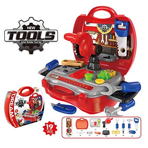 Teaisiy Geschenke für Jungen ab 3-8, Rollenspiele Werkzeugset für Kinder ab 3-8 Lernspielzeug Junge Kinder Mädchen 3-8 Jahre Spielzeug für Jungen ab 3-8 Jahre Junge Spielzeug Gastgeschenke