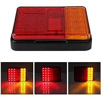 LED coda lampada posteriore, 2pezzi, Powstro 30LED Luce Stop Posteriore Impermeabile 12V Truck lampadine