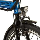 REMINGTON Faltrad Urban Folder 20 Zoll  E-bike Klapprad Pedelec StVZO, Farbe:blau - 4