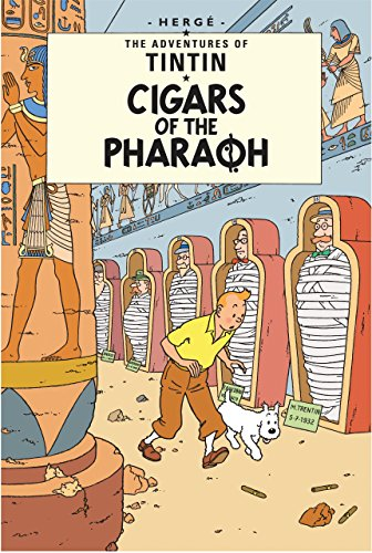 The Adventures of Tintin : Cigars of the Pharaoh par Herge