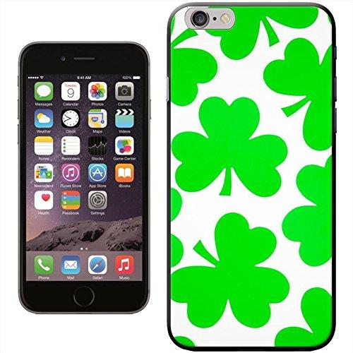 Snuggle–Coque rigide pour Apple iPhone–Irlande/Patrick Jour, Shamrock Irish Lucky Clover, iPhone 5C Shamrock 3 Leaf Lucky Clover
