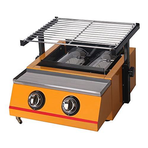 INFERNUS 1200mm 5 Burner LPG Gas Griddle 12mm STEEL Plate £550.00 Vat