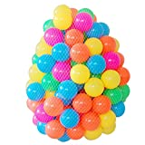 #3: Zibuyu Eco-Friendly Colourful Soft Plastic Ocean Wave Ball Baby Toys - 50 Pieces