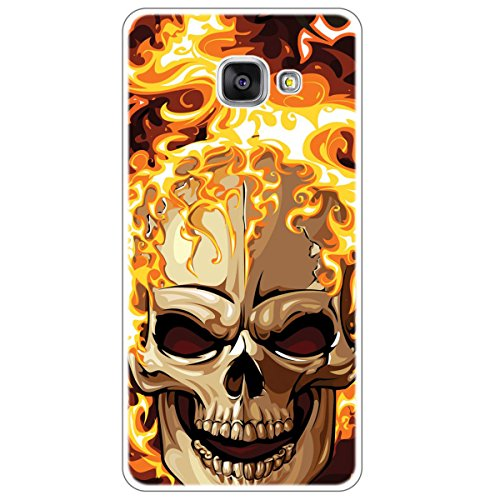 OOH!COLOR 026781_hum012 Lustig mit Muster weiche Silikon TPU Bumper-Hülle für Samsung Galaxy A5 A510 2016 klar FSC011