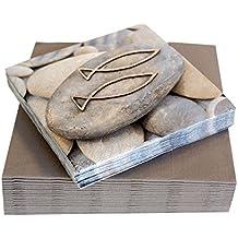 Goebel Scandic Home Fische Deko-Hängeornamente 3er Set Dekoration Metall 11 cm