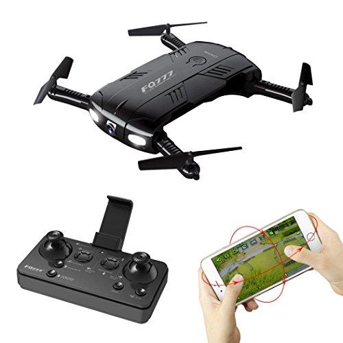 MMLC FQ777 FQ05 6-Achsen-Gyro 2.0MP Wifi Fpv Drohne Kamera Selfie faltbare Quadcopter (a)