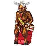 "Krampus 5.5"" Glass Holiday Ornament"