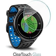 Garmin Approach S5Protector de pantalla, BoxWave® [ClearTouch cristal] vidrio templado 9H Protector de pantalla para Garmin Approach S5