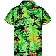 5f91e45b1 Amazon.es  camisa hawaiana hombre - Verde