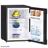 Minikühlschrank 36L Kühlbox Mini Absorber-Kühlschrank Exquisit FA 40 schwarz