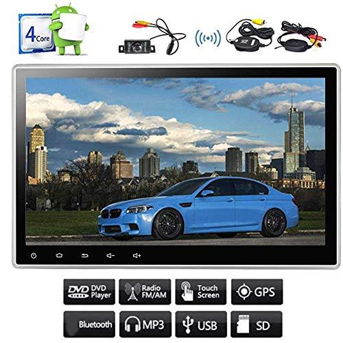 10,1-Zoll-Universal-Double 2 Din im Schlag-Auto-DVD-CD-Player Android 7.1 Nougat-System Quad-Core 2G RAM 16G ROM Autoradio-Unterst¨¹tzungs-GPS-Navigation Split-Screen-Bluetooth-USB-SD-1080P mit k