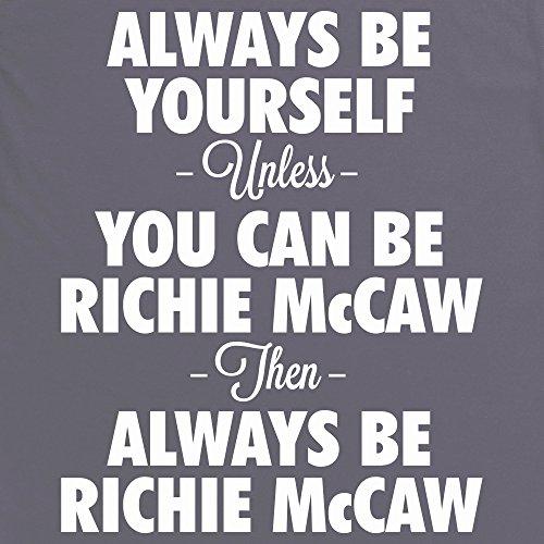 Always be Richie McCaw T-Shirt, Herren Anthrazit