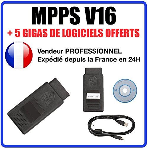 & # x2605; exclusivite & # x2605; Kabel/Schnittstelle MPPS V16+ SOFTWARE MPPS V16Flash - Fg Tech