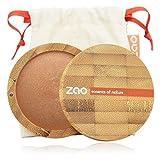 Zao Organic Makeup - polvo Mineral cocida (Bronzer) bronce cobre oz 342-0,53.