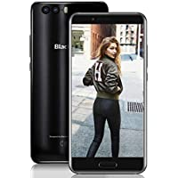"【2018 Blackview P6000 64GB ROM Dual SIM Smartphone, 6180mAh Batería 12V2A Teléfono Móvil, 21MP+8MP+0.3MP 6GB RAM FHD 5.5"" Libres 4G Teléfono, Reconocimiento Facial/GPS/OTG/Bluetooth 4.0-Negro"