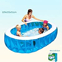 Benjunniños Adultos de PVC engrosados y ecológicos Que se Bañan Nadando Piscina Hinchable de Bolas de