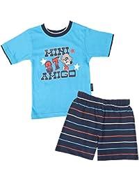 Jungen Pyjama,Shorty,100% Baumwolle,Öko-Tex Standard 100