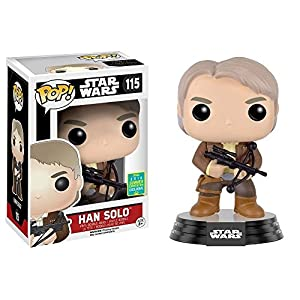 Funko Pop Han Solo armado (Star Wars 115) Funko Pop Star Wars