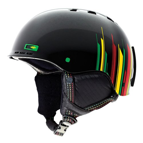 Smith Skihelm Holt, Black irie Stereo, S -